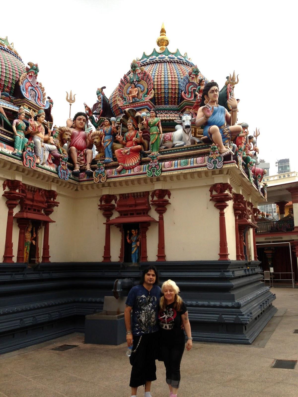 Templo Sri Mariamman Singapur