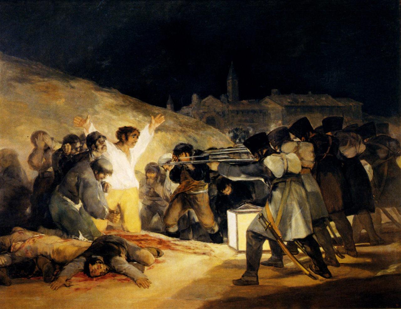 Los fusilamientos 3 Mayo Goya