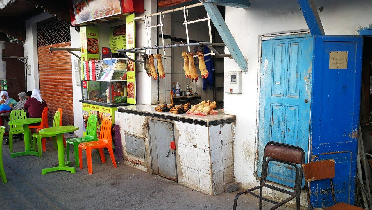 Mercado marroqui