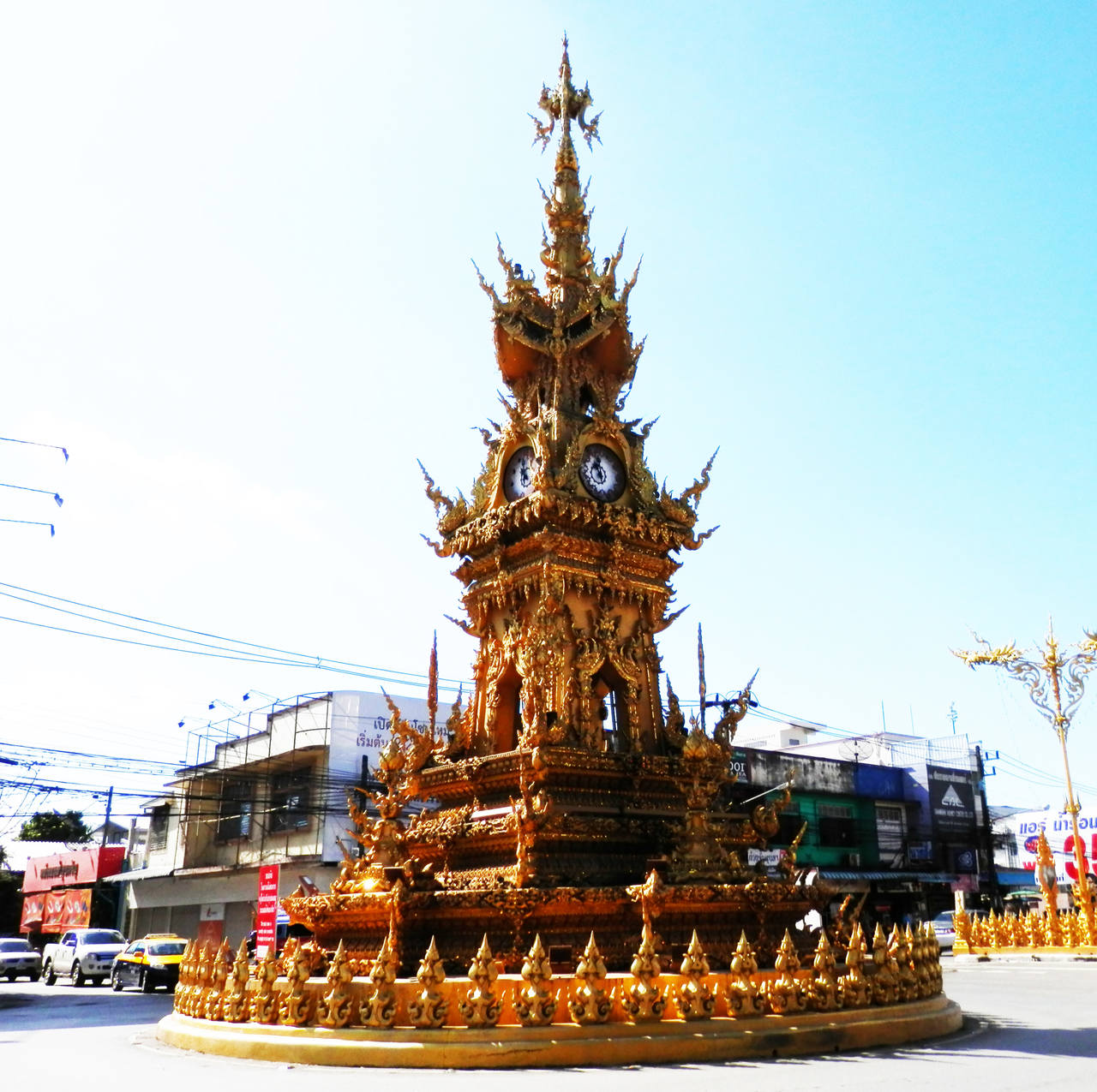 Golden Clock Chiang Rai